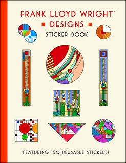 Frank Lloyd Wright Designs Sticker Book