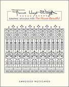 Frank Lloyd Wright: Graphic Designs for The House Beautiful Embossed Boxed Cards