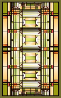 Frank Lloyd Wright Oak Park Studio Adaptation Magnet