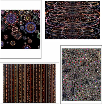 Fred Tomaselli Boxed Notecards