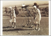 Golf Lesson Postcard