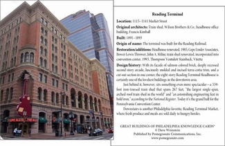 Great Buildings of Philadelphia Knowledge Cards
