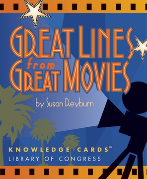 Great Lines from Great Movies Knowledge Cards