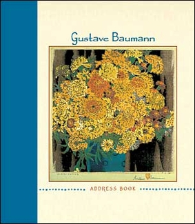 Gustave Baumann Deluxe Address Book
