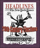 Headlines from The New York Times: 20th Century Elections Knowledge Cards