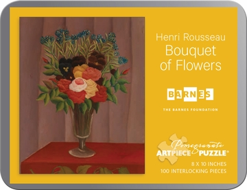 Henri Rousseau: Bouquet of Flowers 100-piece Jigsaw Puzzle