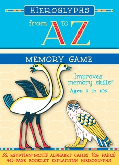 Hieroglyphs from A to Z Memory Game