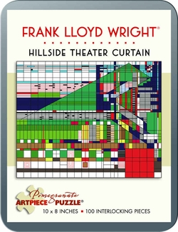 Hillside Theater Curtain 100-piece Jigsaw Puzzle
