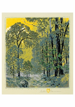 Hillside Woods Notecard