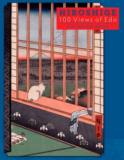 Hiroshige: 100 Views of Edo Coloring Book