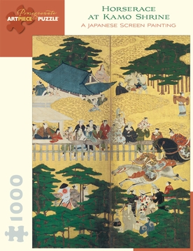 Horserace at Kamo Shrine 1,000-piece Jigsaw Puzzle