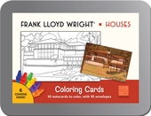 Houses: Frank Lloyd Wright Coloring Cards