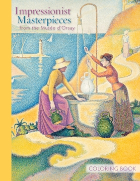 Impressionist Masterpieces from the Musee d'Orsay Coloring Book