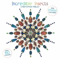 Incredible Insects: Christopher Marley 2016 Sticker Wall Calendar