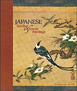 Japanese Scrolls & Screen Paintings Deluxe Address Book