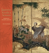 Japanese Scrolls & Screens 2014 Wall Calendar