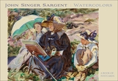 John Singer Sargent: Watercolors Book of Postcards