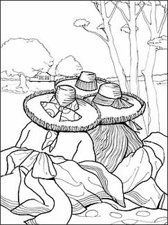 Jonathan Green Coloring Book