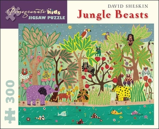 Jungle Beasts 300-piece Jigsaw Puzzle