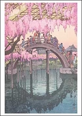 Kameido Bridge Postcard