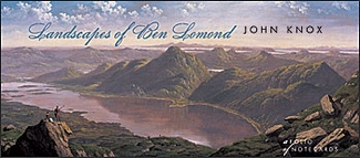 Landscapes of Ben Lomond Panoramic Notecard Folio
