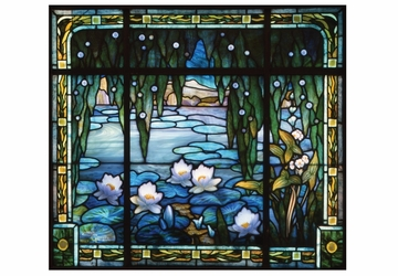 Lily Pond Window Notecard