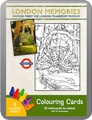 London Memories: Posters from the London Transport Museum Coloring Cards