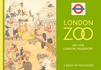London Zoo: Art for London Transport Book of Postcards