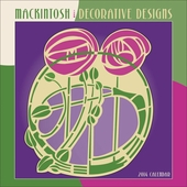 Mackintosh Decorative Designs 2014 Mini Wall Calendar