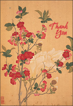 Magnolia and Quince Boxed Thank You Notes