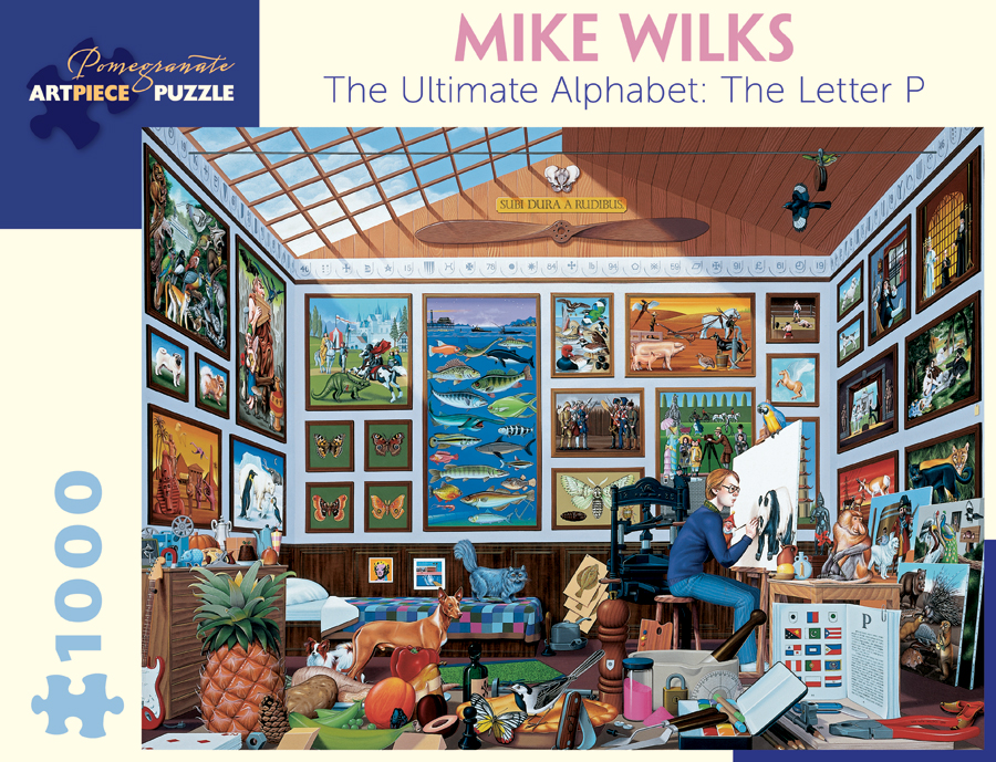 Mike Wilks The Ultimate Alphabet The Letter P 1 000