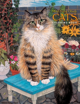 Mimi Vang Olsen: Cats Coloring Book