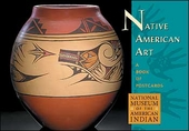 Native American Art Book of Postcards