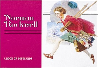 Norman Rockwell Book of Postcards