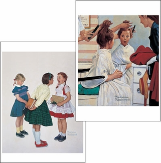 Norman Rockwell Notecard Folio