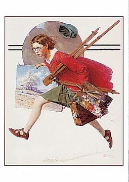Norman Rockwell: The Saturday Evening Post Notecard Folio