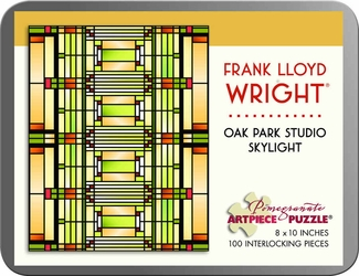 Oak Park Studio Skylight 100-piece Jigsaw Puzzle