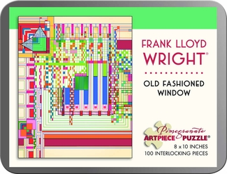 Old Fashioned Window 100-piece Jigsaw Puzzle