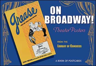 On Broadway! Theater Posters Book of Postcards