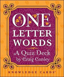 One-Letter Words Knowledge Cards