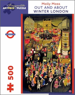 Out and About; Winter London 500-piece Jigsaw Puzzle