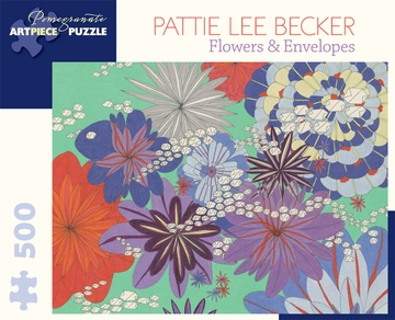 Pattie Lee Becker: Flowers & Envelopes 500-piece Jigsaw Puzzle