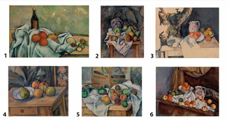 Paul Cezanne Block Puzzle