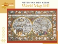 Pieter van den Keere: World Map 1,000-piece Jigsaw Puzzle