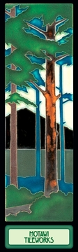Pine Landscape Bookmark