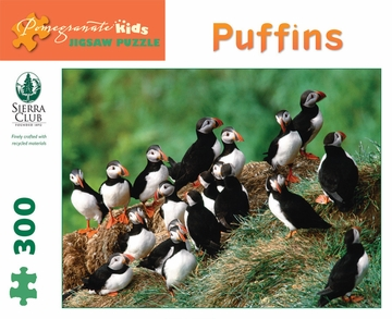 Puffins 300-piece Jigsaw Puzzle