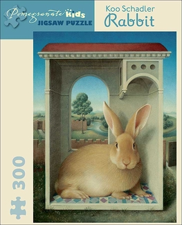 Rabbit 300-piece Jigsaw Puzzle
