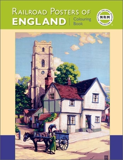 Railroad Posters of England Coloring Book