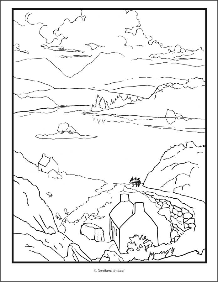 ireland coloring pages - photo#6