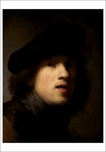 Rembrandt Self-Portrait Notecard